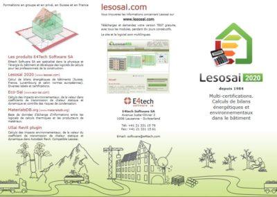 Télécharger la brochure Lesosai 2020